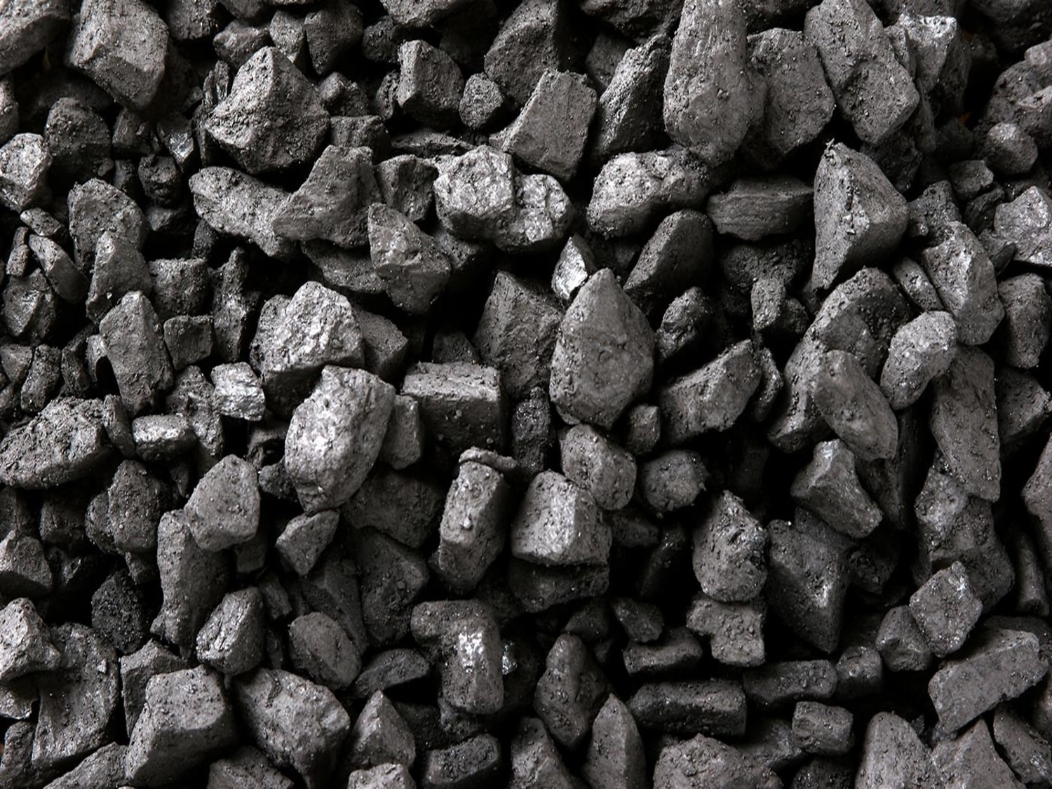 coal before processing with the KDS Micronex